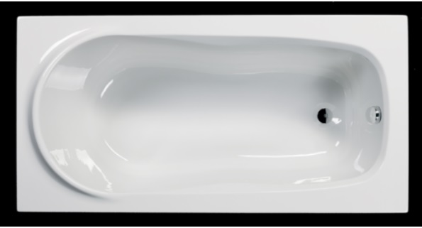Sanotechnik ALBA testformájú fürdőkád