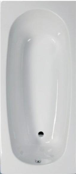 Sanotechnik LINEA 160 testformájú fürdőkád