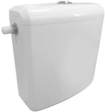 """Sapho AQUALINE WC tartály duál gombos öblítőmechanikával, összekötő csövekkel, oldalsó bekötéssel, 1/2"""", ABS (T1801-S)"""