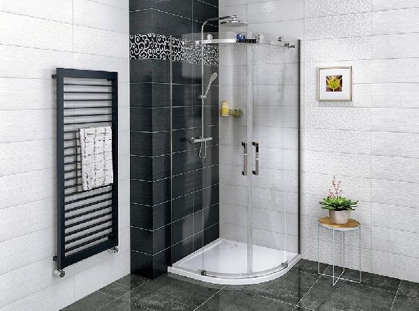 Sapho GELCO DRAGON íves zuhanykabin, 2 ajtós, transzparent üveg, 900x900mm (GD4490)