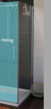 Sapho GELCO DRAGON oldalfal, 1000mm, transzparent üveg (GD7210)
