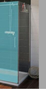 Sapho GELCO DRAGON oldalfal, 800mm, transzparent üveg (GD7280)