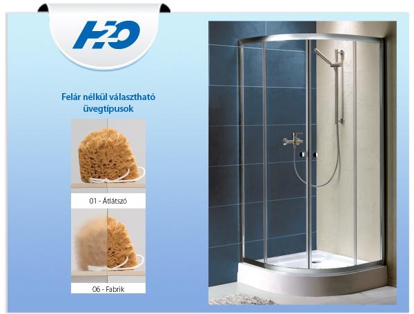 H2o zuhanykabin