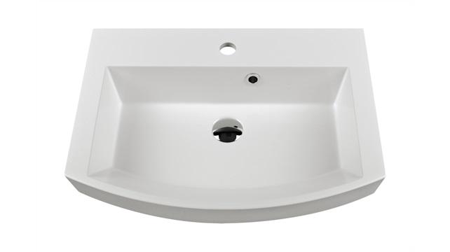 Falra szerelhető mosdók